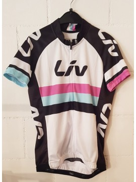 Giant Liv Race Kurzarmtricot white/black Gr. L